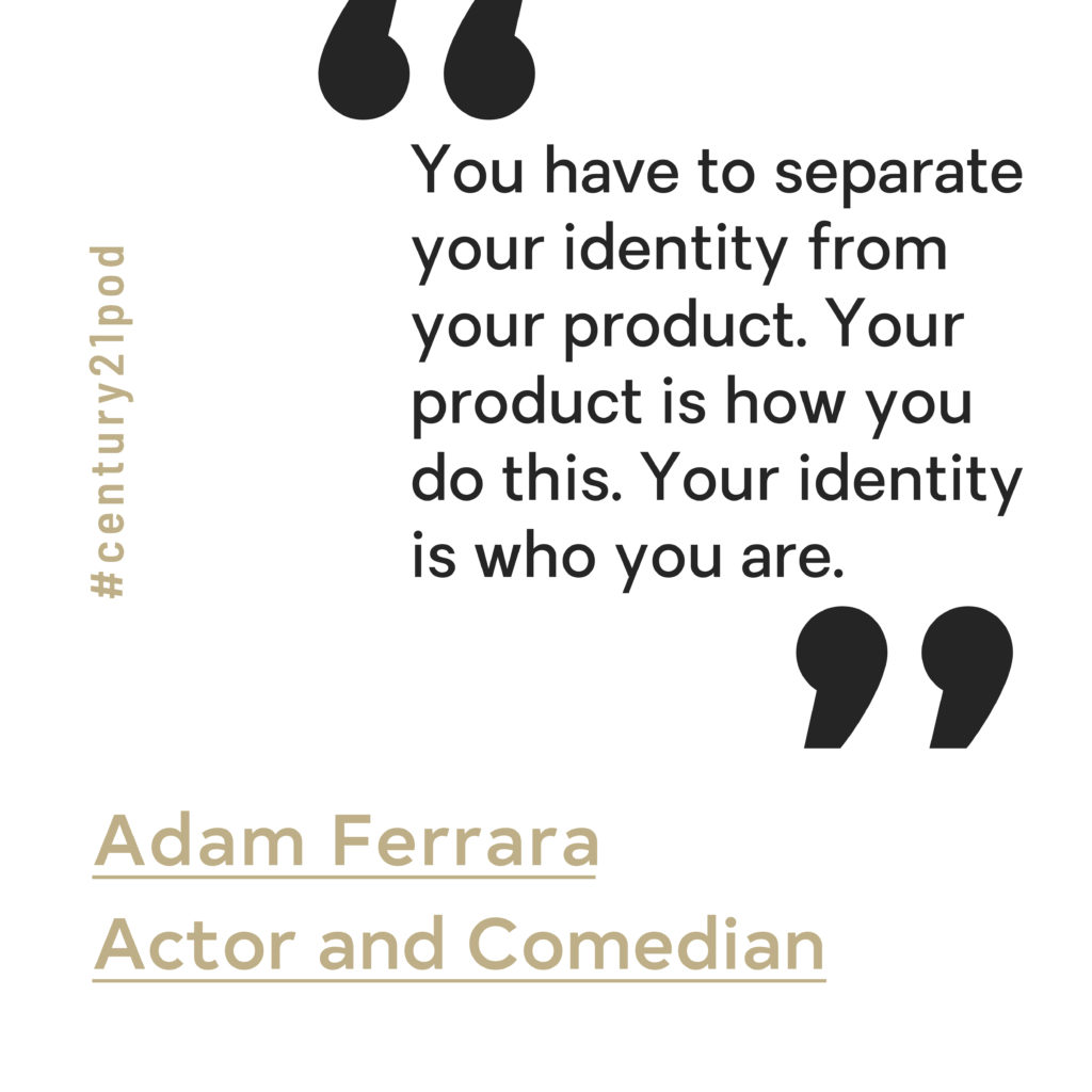 Lessons in Bouncing Back from Rejection with Adam Ferrara image 1